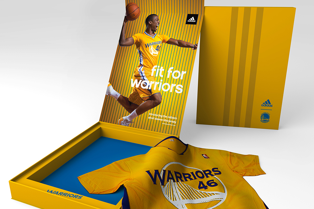 NBA Adidas Warriors Box Concept – CFK Design